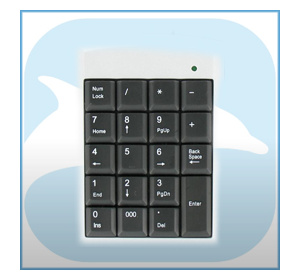 DOLPHIX Numeric Keyboard