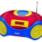 AEG Portable Stereo radio with CD SR 4363 CD Kids Line