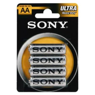 Batterie SONY Zink-Chlorid Ultra R06 Mignon AA (4 St.)