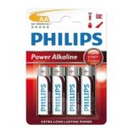 Battery Philips Power Alkaline LR06 Mignon AA (4 pcs)