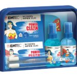 EMTEC Travel Essentials kit, Superman and Wonder Woman
