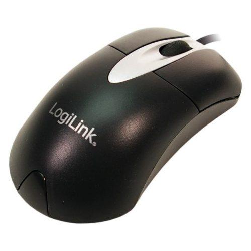 LogiLink mini optical USB mouse 800DPI black (ID0011)