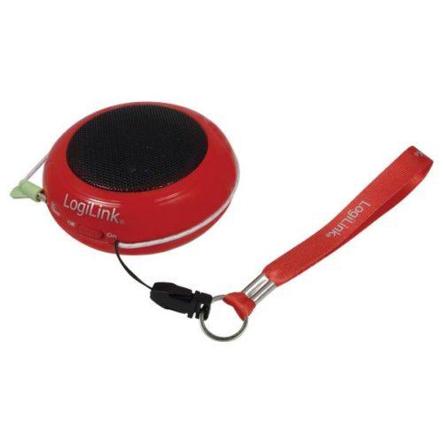 LogiLink mini portable speaker hamburger red (SP0015)