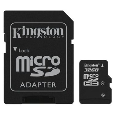 MicroSDHC 32GB Kingston CL4 Blister