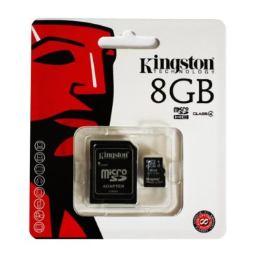 MicroSDHC 8GB Kingston CL4 Blister