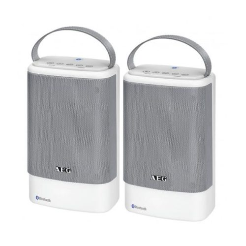 AEG Bluetooth Speaker Set BSS 4833 white