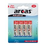Battery Arcas Alkaline Mignon AA (4 Pcs.)