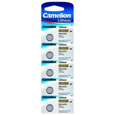 Camelion Lithium Battery CR1225 3V (5 pcs.)