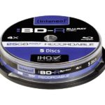 Intenso Recordable BD-R 25GB 4x Speed - 5pcs Cake Box