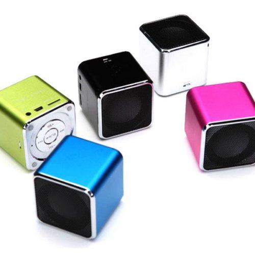 Portable Mini Speaker (Blue)
