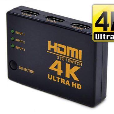HDMI 4K Ultra HD Switch - 3 Port