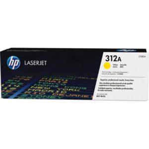 HP Tonerpatrone - 312A - CF382A - yellow CF382A