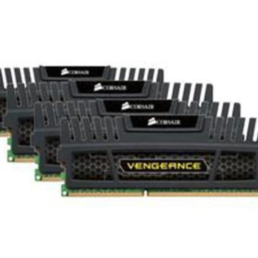 Memory Corsair Vengeance DDR3 1600MHz 16GB (4x 4GB) Black CMZ16GX3M4A1600C9