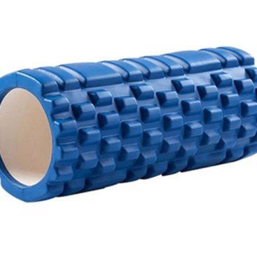 Yoga Massage Pillar 33x14cm (Blue)