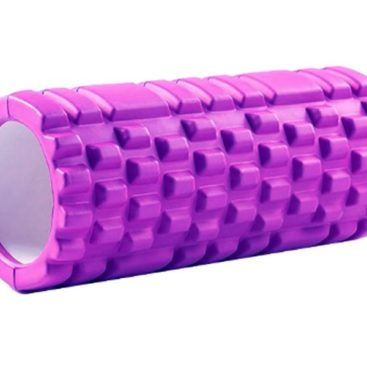 Yoga Massage Pillar 33x14cm (Purple)