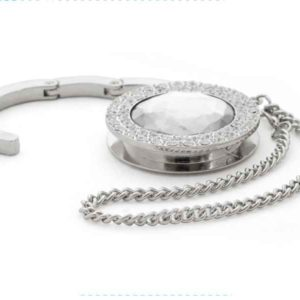 Bag Hanger with Diamond Design (White C2)