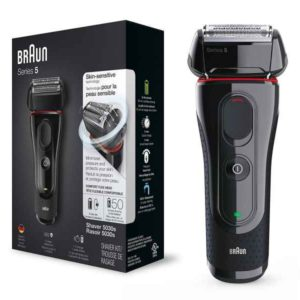 Braun Shaver 5030s Series 5 Black