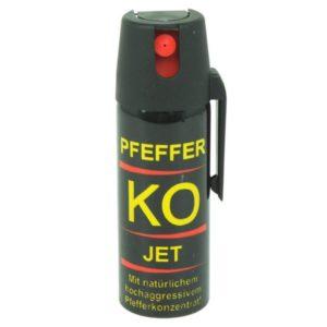 Pepper KO JET (Mit patentiertem Panikverschluss) - 50ml
