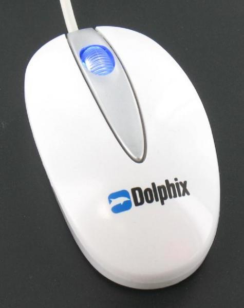 Dolphix Optical Super Mini Notebook Mouse White