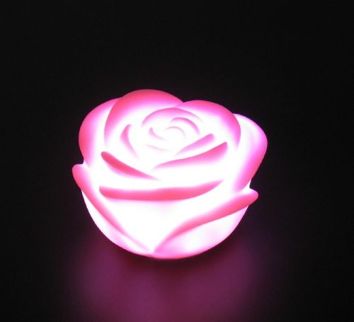 7 Colors LED Rose Romance Light