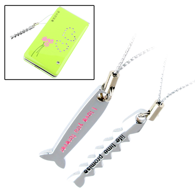 Aluminum Alloy Series Flying Fish Shape Mobile Phone Chain