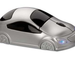 Car Shape Optical Mouse (Silver)