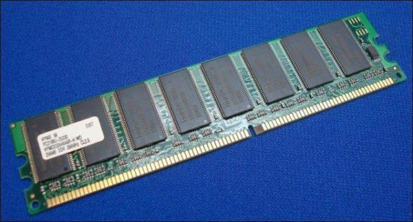 Hynix 256MB PC3200U 400MHz (HYMD232646A8R-H WD)