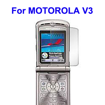 LCD Screen Protector for MOTOROLA V3
