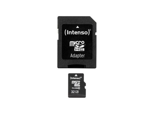 MicroSDHC 32GB Intenso +Adapter CL10 Blister