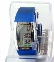 Persopolis unisex watch with silicone blue