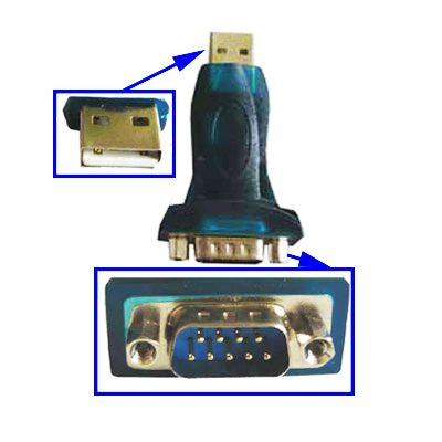 USB to RS232 (9-pin serial ) Adapter Techline
