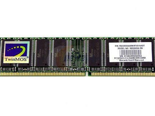 TwinMOS 256MB DDR 400 PC3200 M2G9I08A-MK