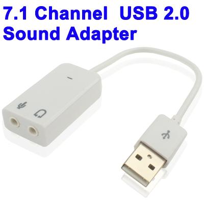 USB 2.0 External 7.1 Sound Card