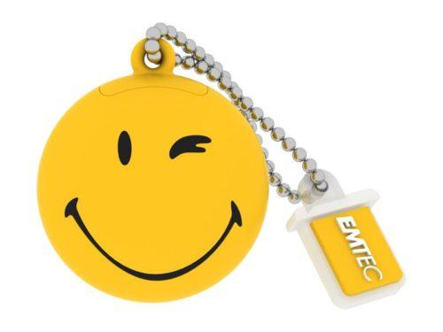 USB FlashDrive 8GB EMTEC SmileyWorld -Take it easy- (Yellow)