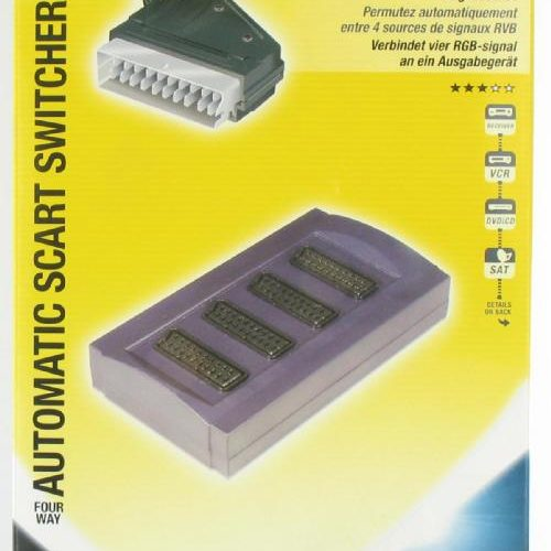 Philips Automatic 4-way Scart Switcher