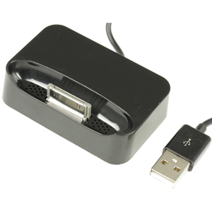 Dockingstation for Iphone 3G, 3Gs with USB Cable black bulk
