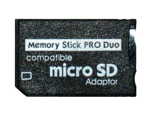 Micro SD to Pro Duo Adapter