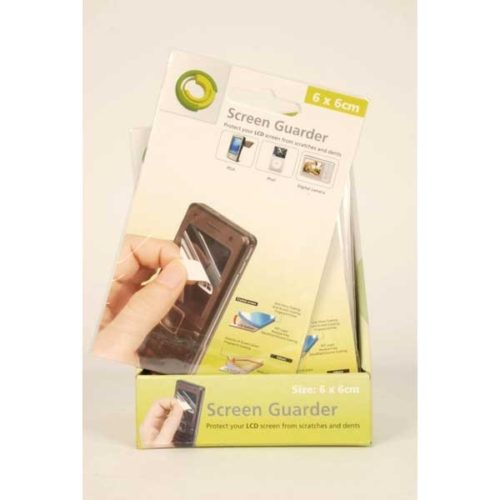 Screen Protectors 6x6cm in the display