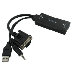 VGA + Audio to HDMI Converter Cable