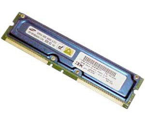 IBM RDRAM RIMM 64MB ECC (33L3094)