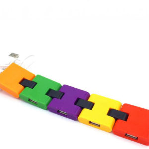 color usb hub 4 port