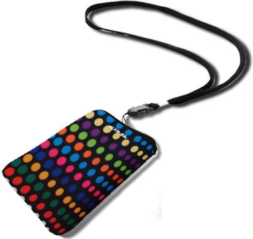 Θήκη Giban για iPhone Sleeve Fun Dotted / Black