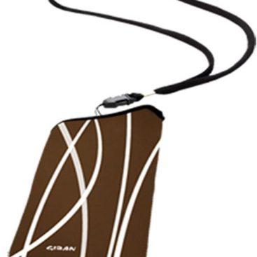 ΘήΘήκη Giban gia iPhone Sleeve Fun MB-1004 Brown/Blackκη Giban gia iPhone Sleeve Fun MB-1004 Brown/Black
