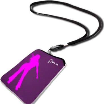 Θήκη Giban gia iPhone Sleeve Fun Purple / pink