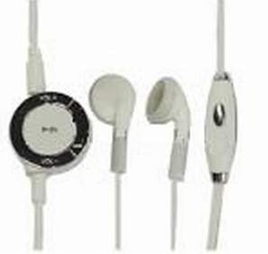 Headphones with remote control for PSP 2000 (Pink)