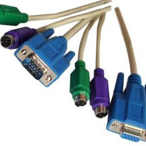 KVM Cable 2 computer from a single ps2