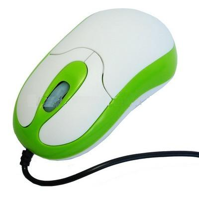 MOUSE OPTICAL GREEN USB