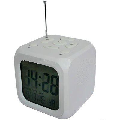 MP3 Alarm Clock with FM Radio , work with SD Card