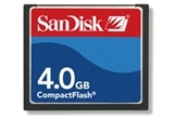 SanDisk 4GB Compact Flash Card