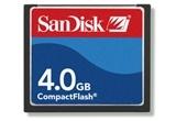 SanDisk 4GB Compact Flash Card